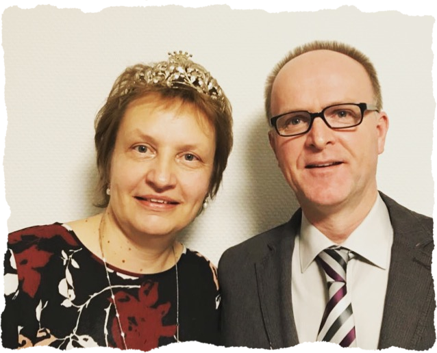König Ansgar und Königin Maria